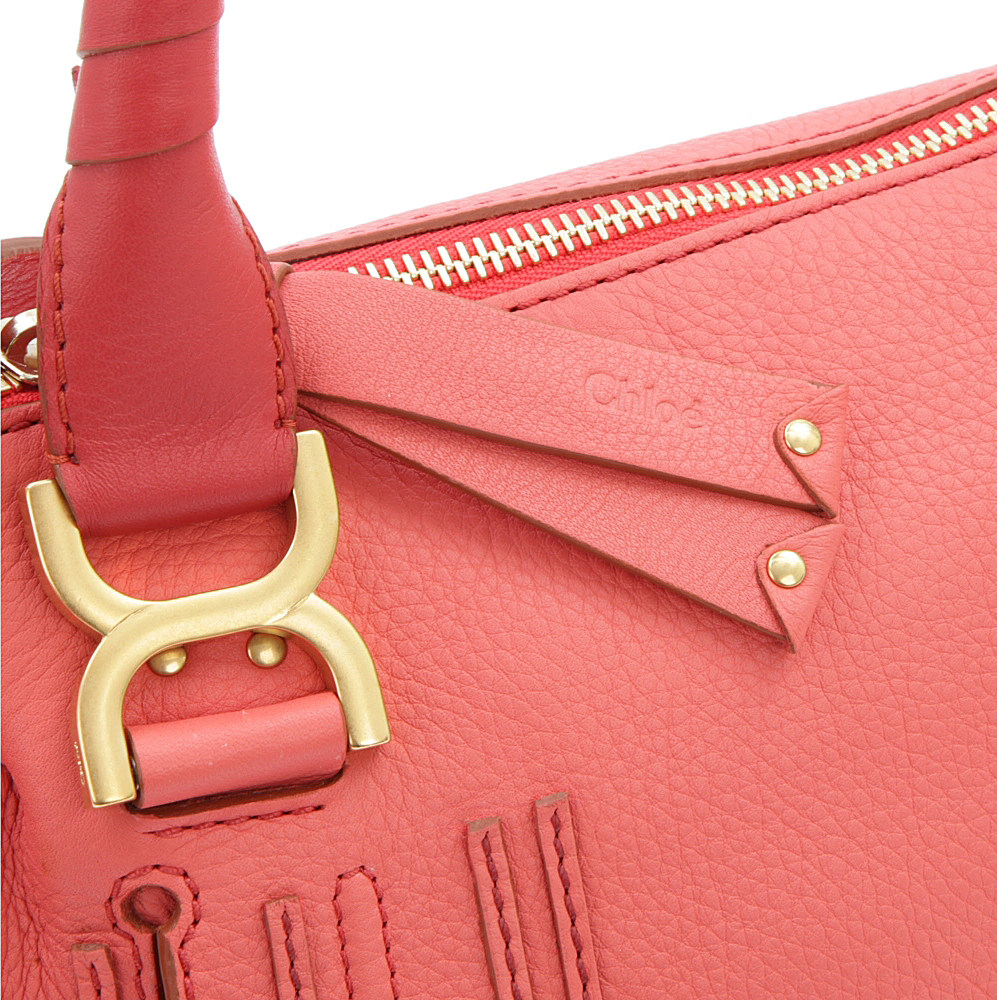 Chlo¨¦ Marcie Small Shoulder Bag in Pink (paradise pink) | Lyst