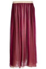 Forte Forte Pleated Maxi Skirt - Lyst