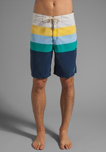 Insight Retro Daze Mid Boardshort in Navy - Lyst