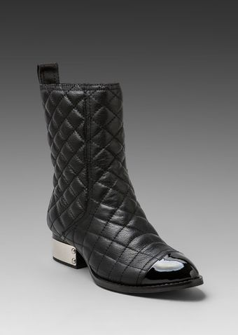 Jeffrey Campbell Zhora Quilted Boot in Black - Lyst