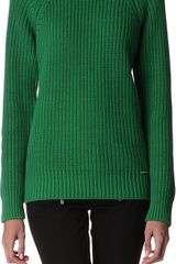 Michael Kors Ribbed Jumper - Lyst
