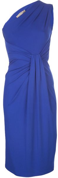 Michael Kors One Shoulder Sheath Dress - Lyst
