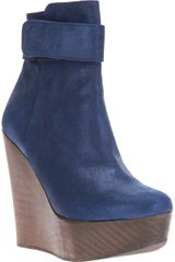 Opening Ceremony Wedge Ankle Boot - Lyst