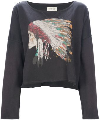 Ralph Lauren Painted Indian Sweatshirt - Lyst
