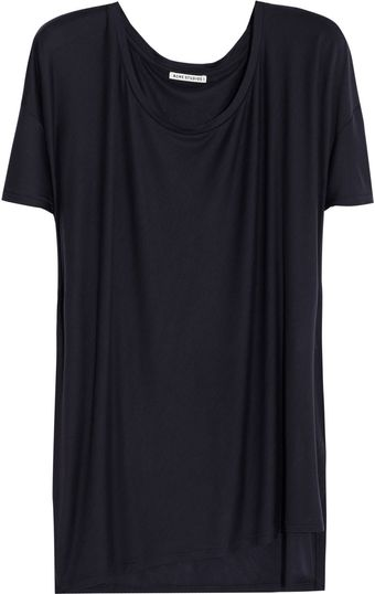 Acne Above Ten Oversized Jersey Tshirt - Lyst