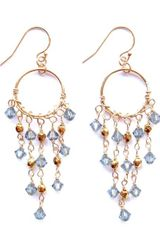 Alicia Marilyn Designs Swarovski Crystal Chandelier Earrings - Lyst