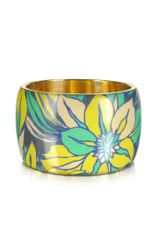 Antik Batik Delphi Multicolor Resin Bangle Bracelet - Lyst