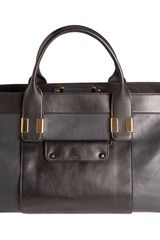 Chloé Colorblock Large Alice Satchel - Lyst