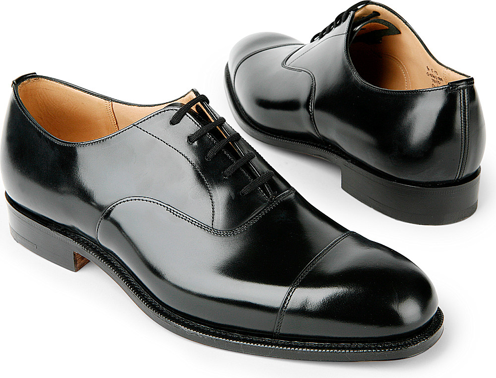 church s consul g oxford shoes in black for lyst