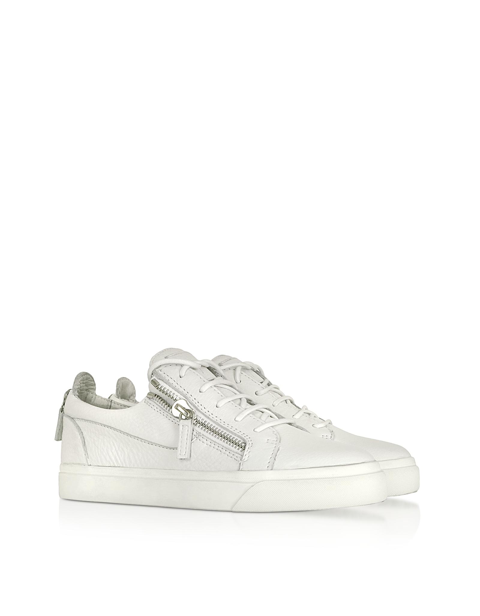 Mens White Designer Shoes
