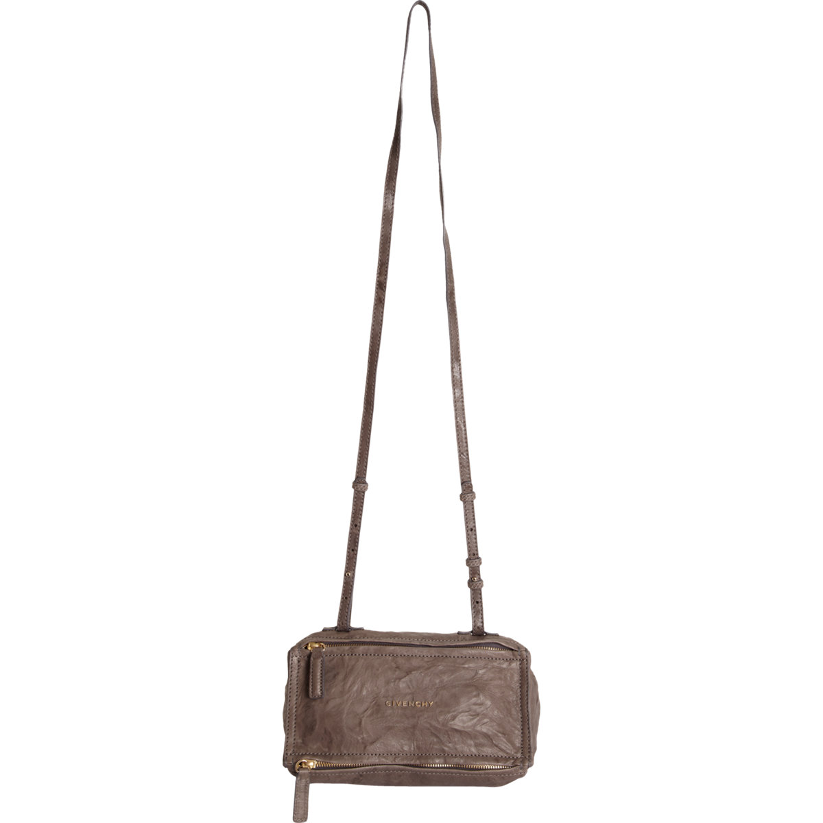 aceac6b2c7634 Givenchy Pandora Metal Animation Messenger Bag in Brown (taupe ...