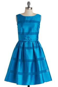 ModCloth Dinner Party Darling Dress in Azure - Lyst