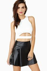 Nasty Gal Separate Ways Crop Top - Lyst