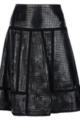 Proenza Schouler Perforated Panel Skirt - Lyst