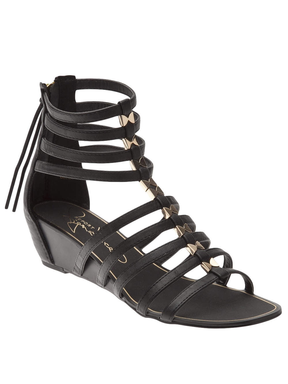 Lyst Report Meliza Gladiator Sandal In Black