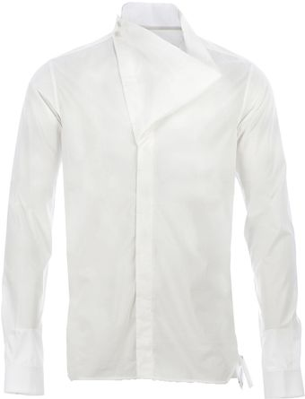 Rick Owens Long Sleeve Shirt - Lyst