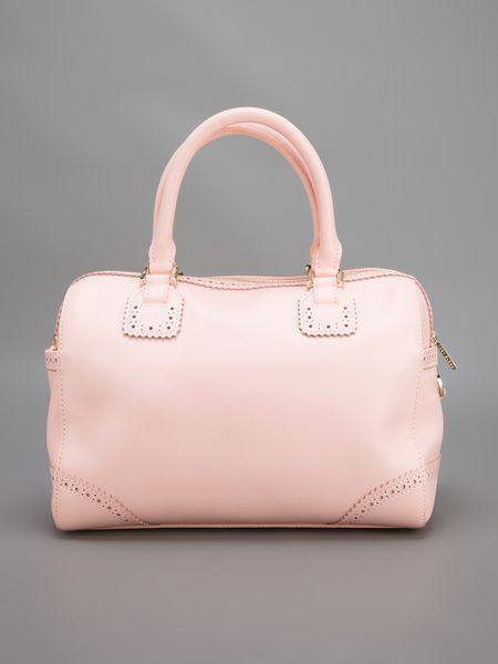 Tory Burch Robinson Spectator Tote In Pink Lyst