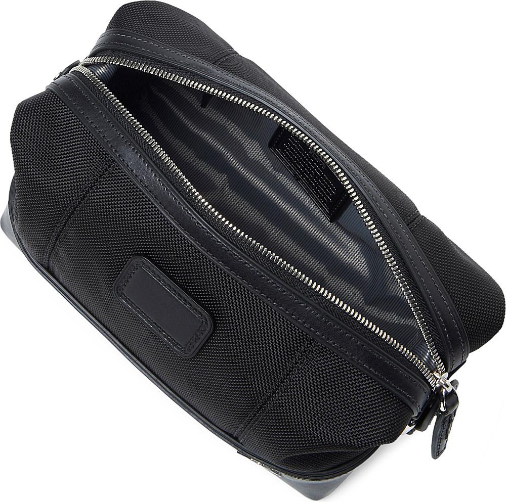 Tumi Bedford Miller Wash Bag In Black For Men Lyst