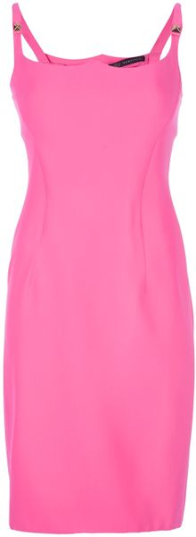Versace Lady Di Dress in Pink