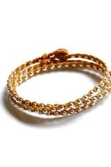 Vivien Frank Designs One After The Other Bead Bracelet Butterscotch - Lyst