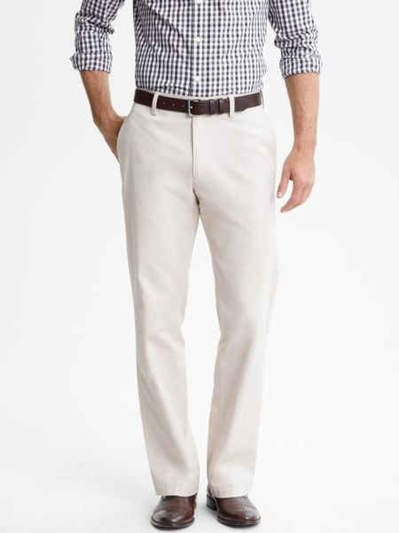 Luxury Banana Republic RollUp City Chino In Brown Mateo Tan  Lyst