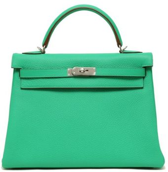 Hermes Menthe Clemence Kelly with Palladium - Lyst