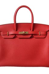 Hermes Birkin with Gold - Lyst