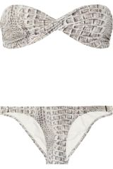 Melissa Odabash Martinique Twisted Bandeau Bikini - Lyst