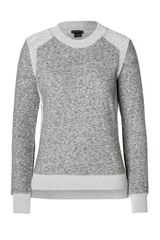 Theory Cotton Wool Goleta Sweatshirt