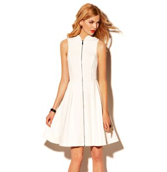 Vince Camuto Sleeveless Dress - Lyst