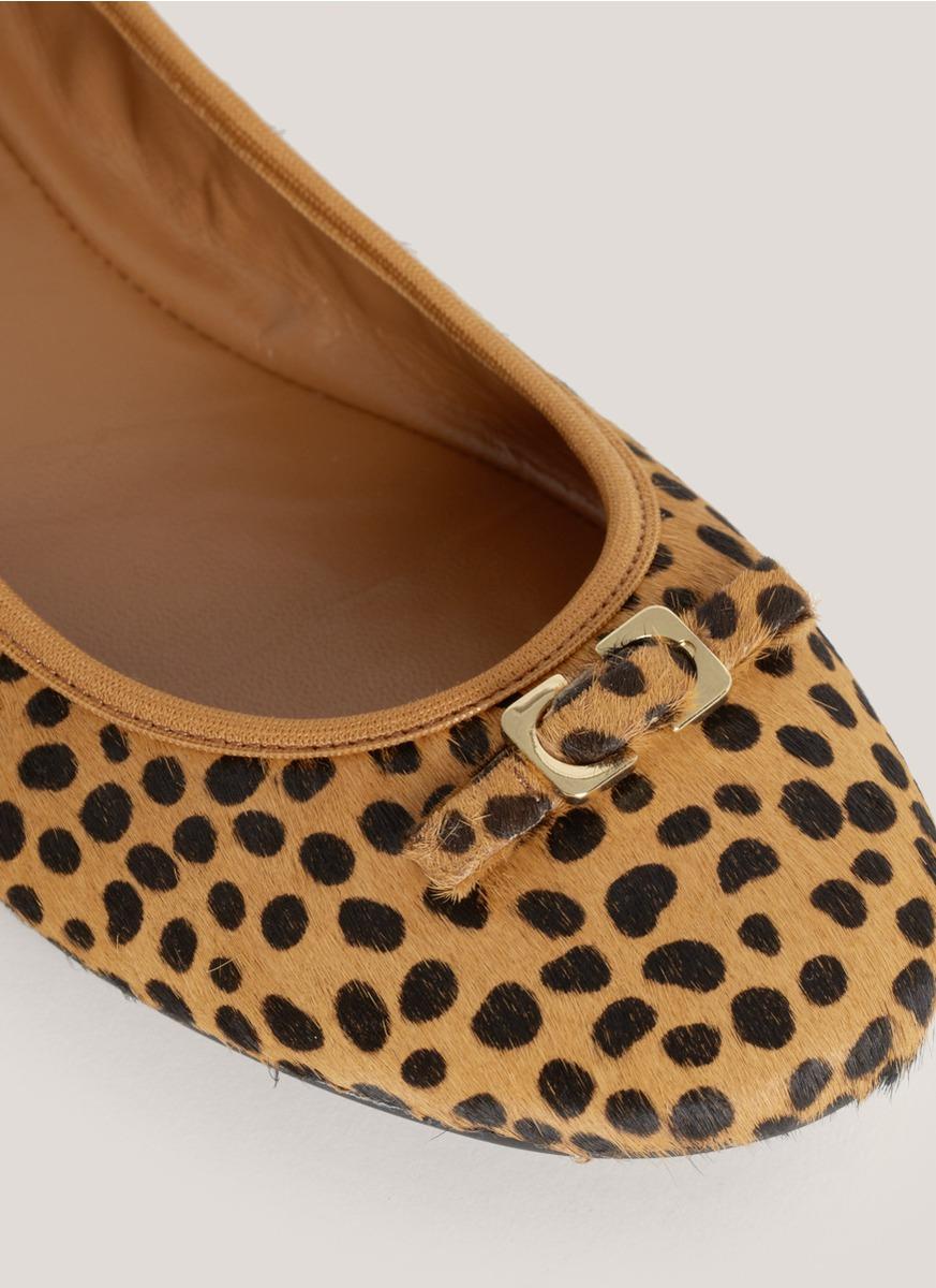 Diane von Furstenberg Round-Toe Ponyhair Flats buy cheap new cheap sale fake new styles sale online sale online ojfLRc