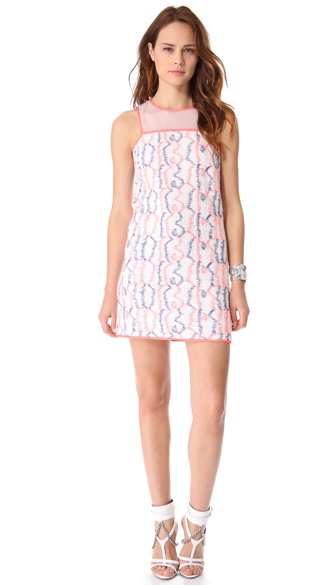 Lyst - Milly Avery Shift Dress d5ef0ed5f