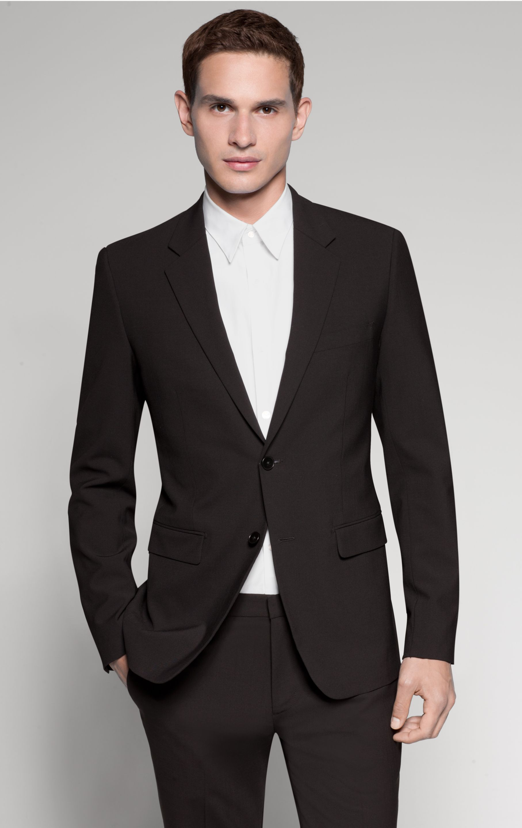 Theory xylo np blazer in black for men lyst Architect suit