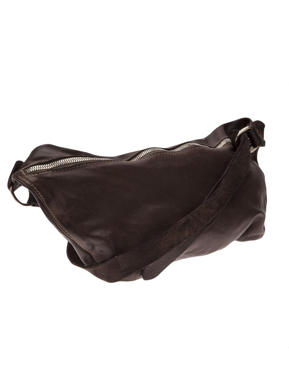 Guidi Full Grain Small Bag In Brown For Men Lyst