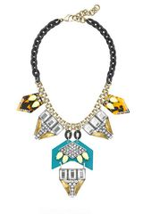 J.Crew Lulu Frost For Jcrew Seascape Statement Necklace - Lyst