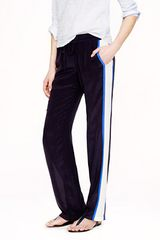 J.Crew Silk Crepe Colorblock Pants - Lyst