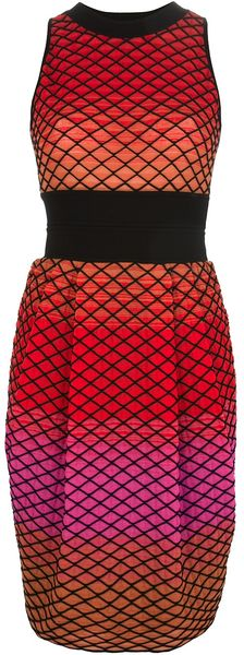 Missoni Crosshatch Print Dress - Lyst