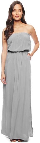 Splendid Strapless Maxi Dress - Lyst
