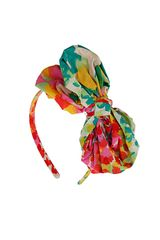 Topshop Bright Fabric Bow Headband - Lyst