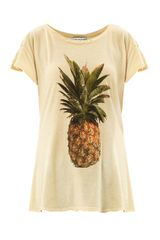 Wildfox Pineapple print T-shirt - Lyst