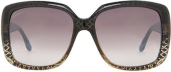 Gucci Sunglasses in Geometric Print Black - Lyst