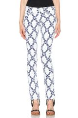 Isabel Marant Gregoire Striped Embroidered Jeans - Lyst