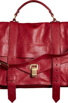 Proenza Schouler Ps1 Large Leather - Lyst