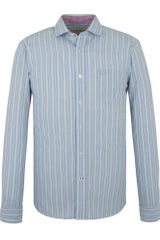 Racing Green Blue Long Sleeved Stripe Shirt - Lyst