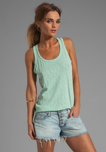 Rag & Bone Classic Beater Tank in Green - Lyst