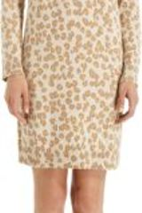A.P.C. Leopard Print Dress - Lyst