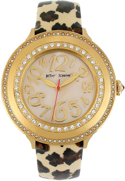 jewelry watches guess watches womens gold diamante leopard