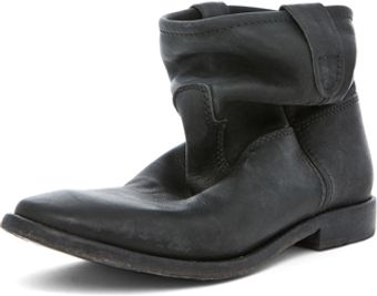 Isabel Marant Jenny Leather Boot in Black - Lyst