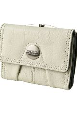 Kenneth Cole Reaction Button Up Frame Clutch Wallet - Lyst
