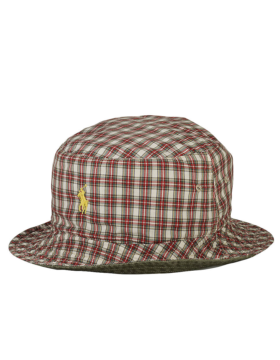 2bf56e3fc37 Lyst - Polo Ralph Lauren Reversible Beachside Bucket Hat in Red for Men